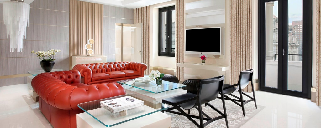 Gallia Presidential Suite - Living Room