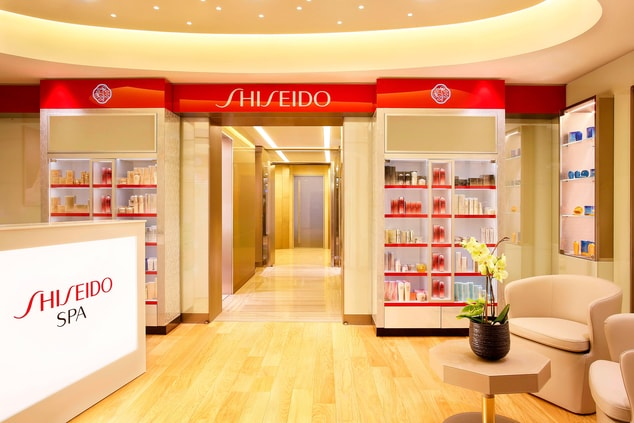 Shiseido Spa Reception