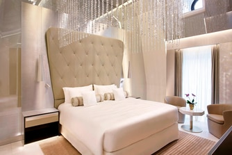 Katara Royal Suite Princess Bedroom