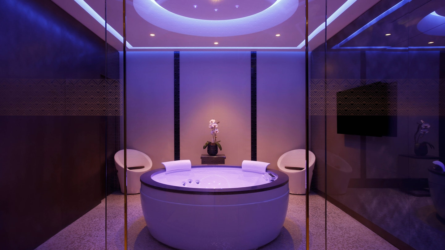 Private Suite Spa Jacuzzi