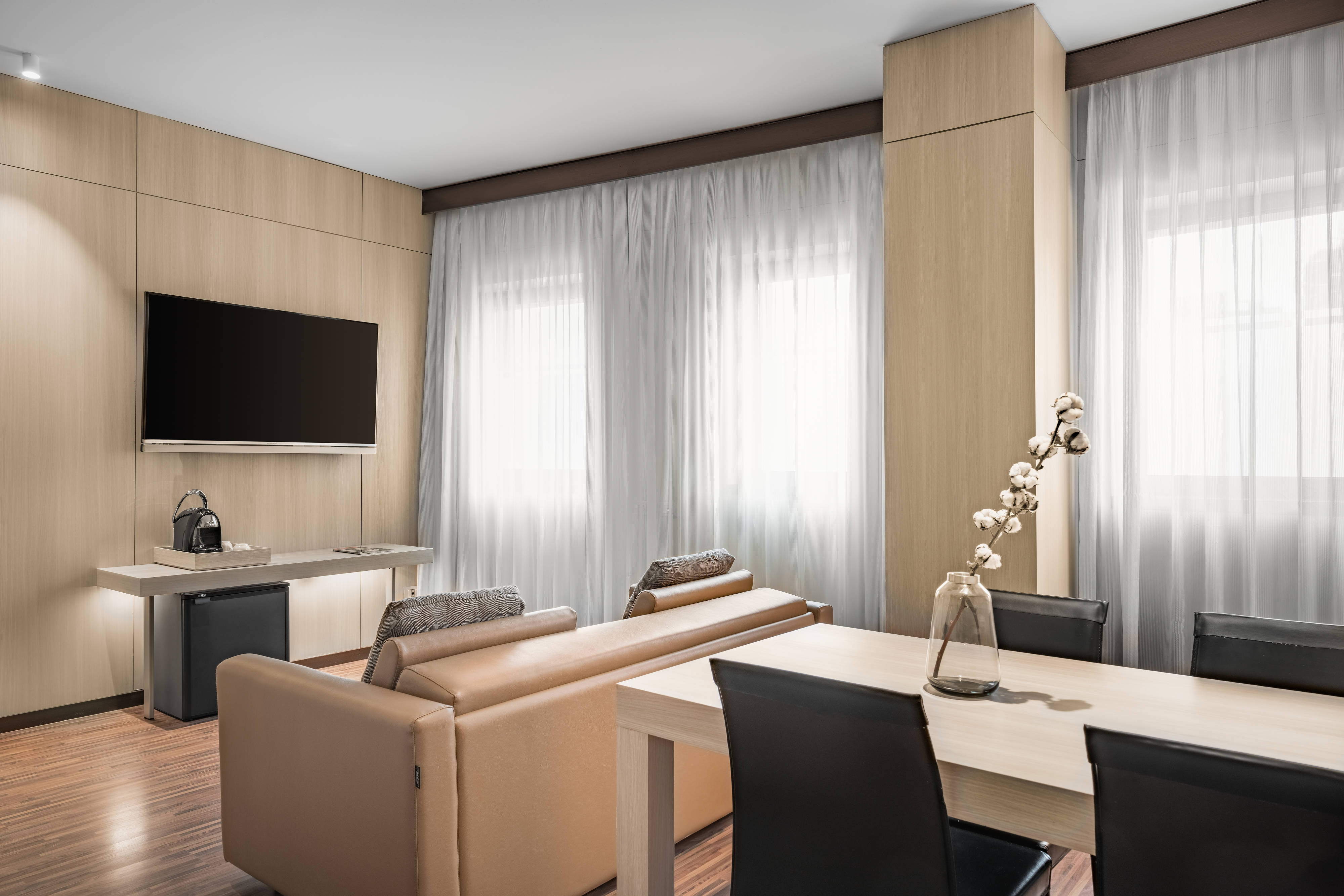 Suite with Living and Dining space