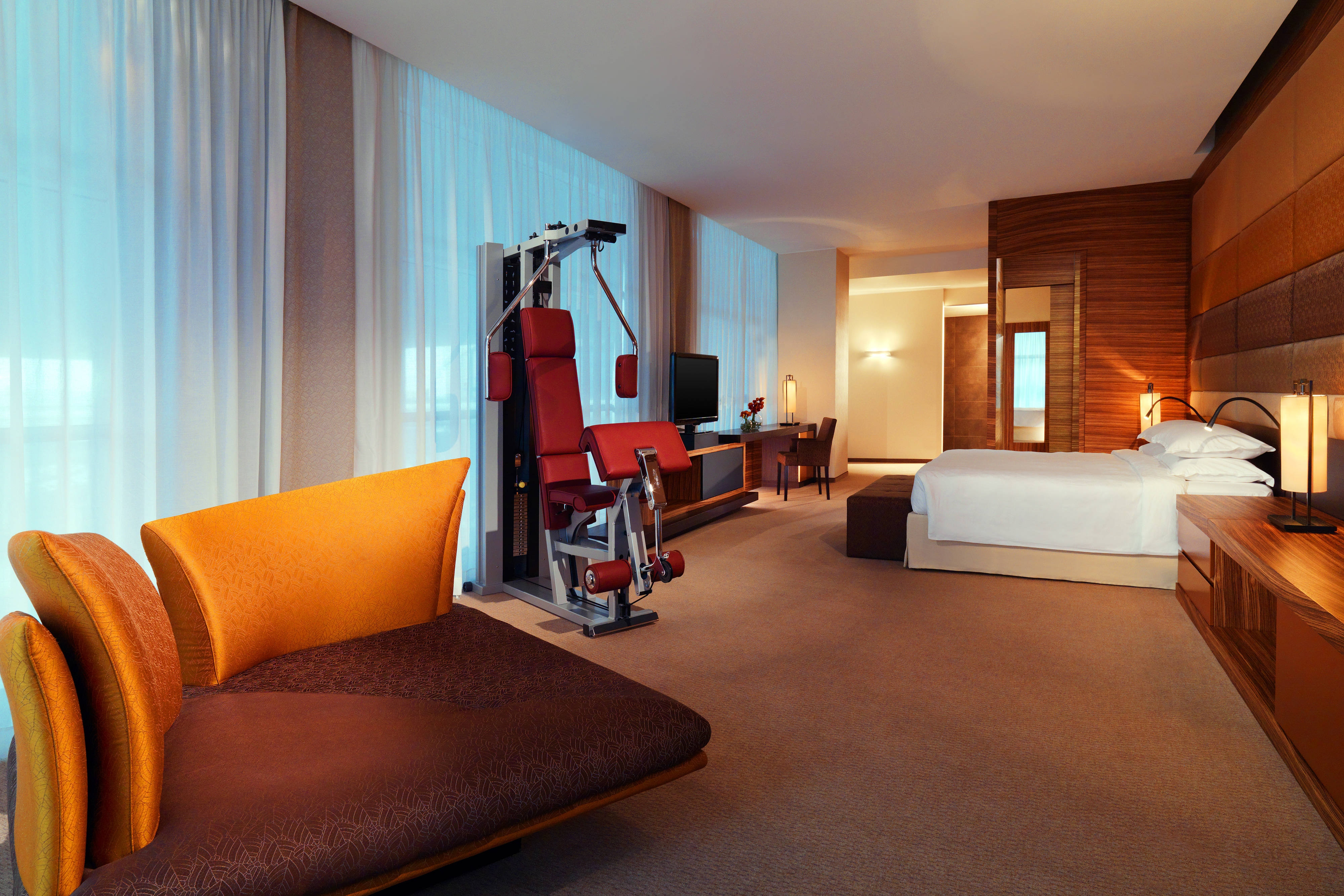 Diplomatic Suite with Gym