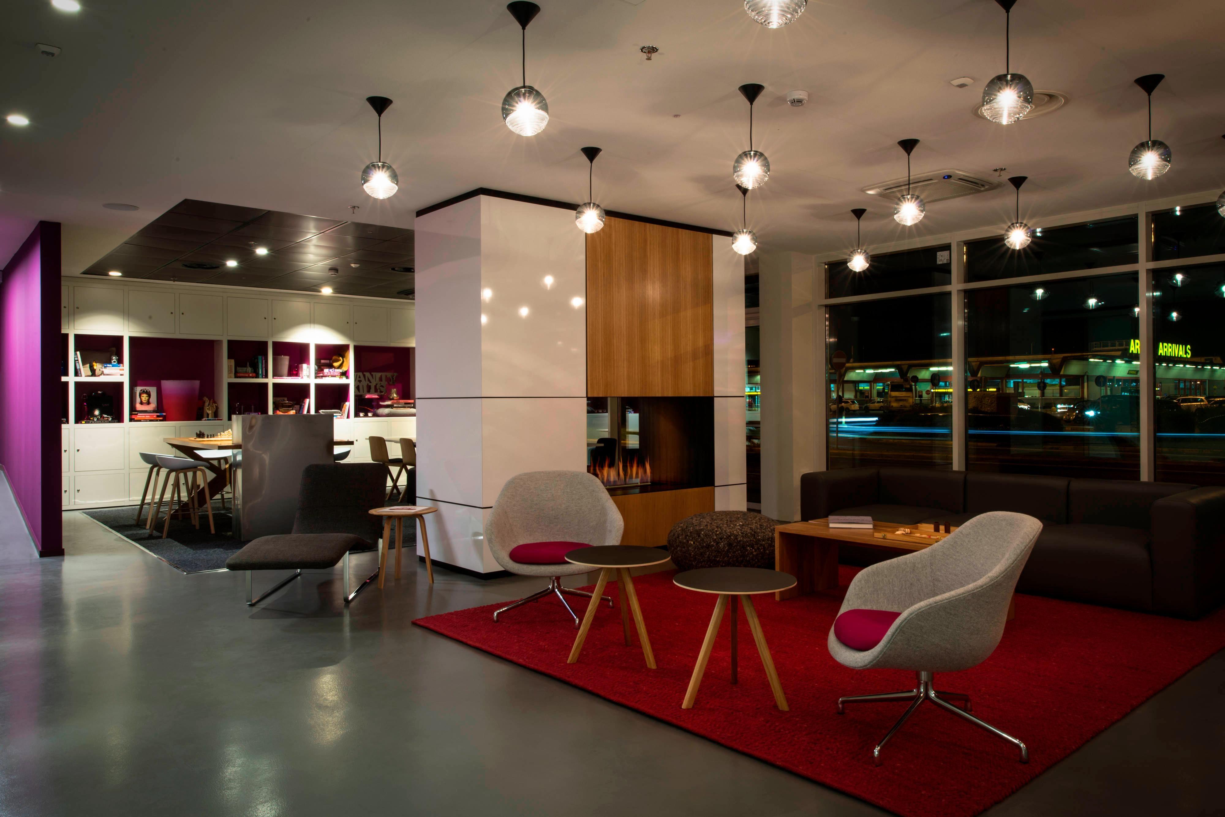 Moxy Milan Hotel Living Room