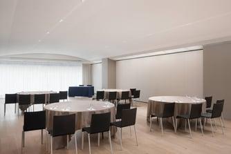 Sala riunioni Monastero - Allestimento per cabaret