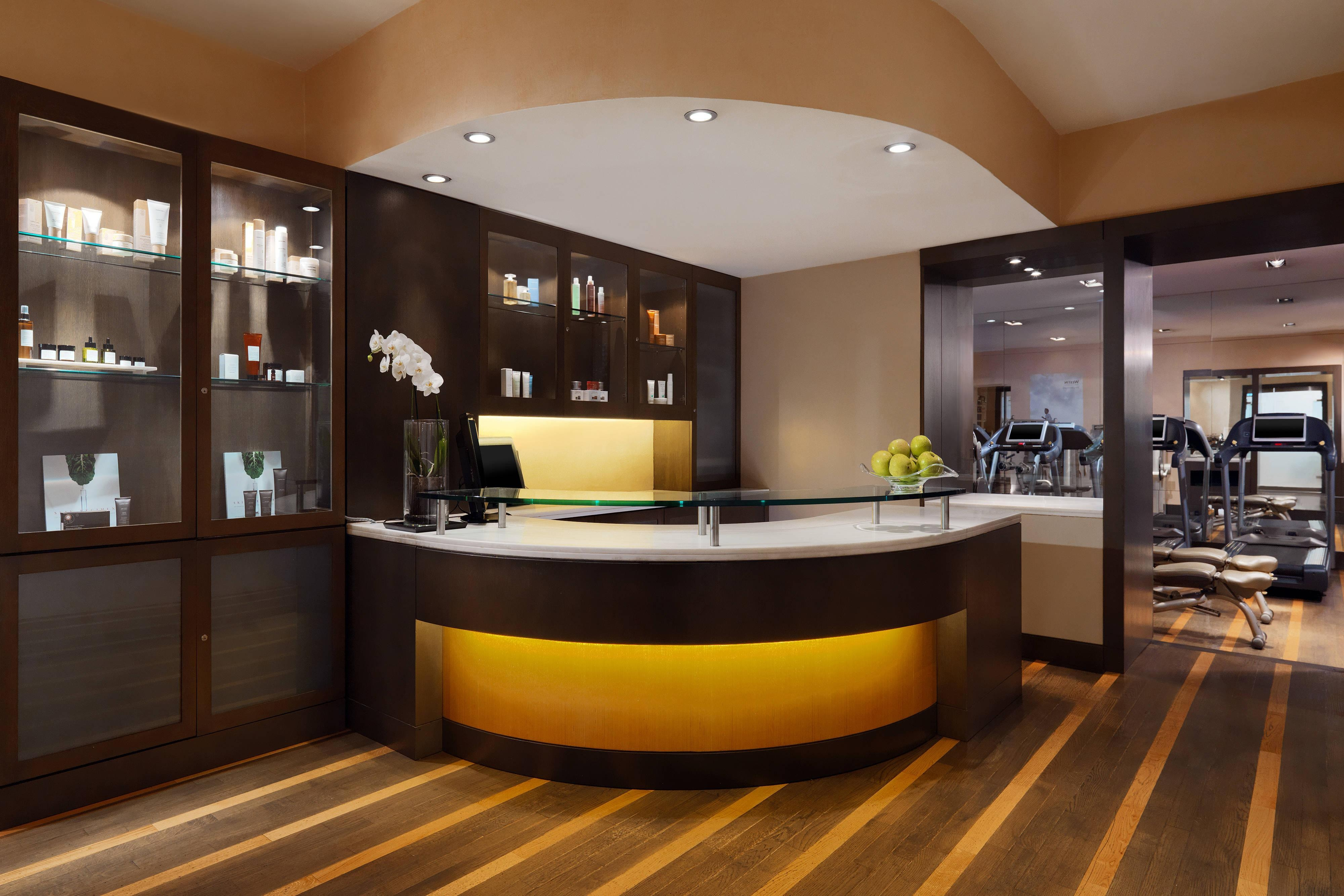 Westin Workout & Beauty SPAce by [comfort zone] - Reception