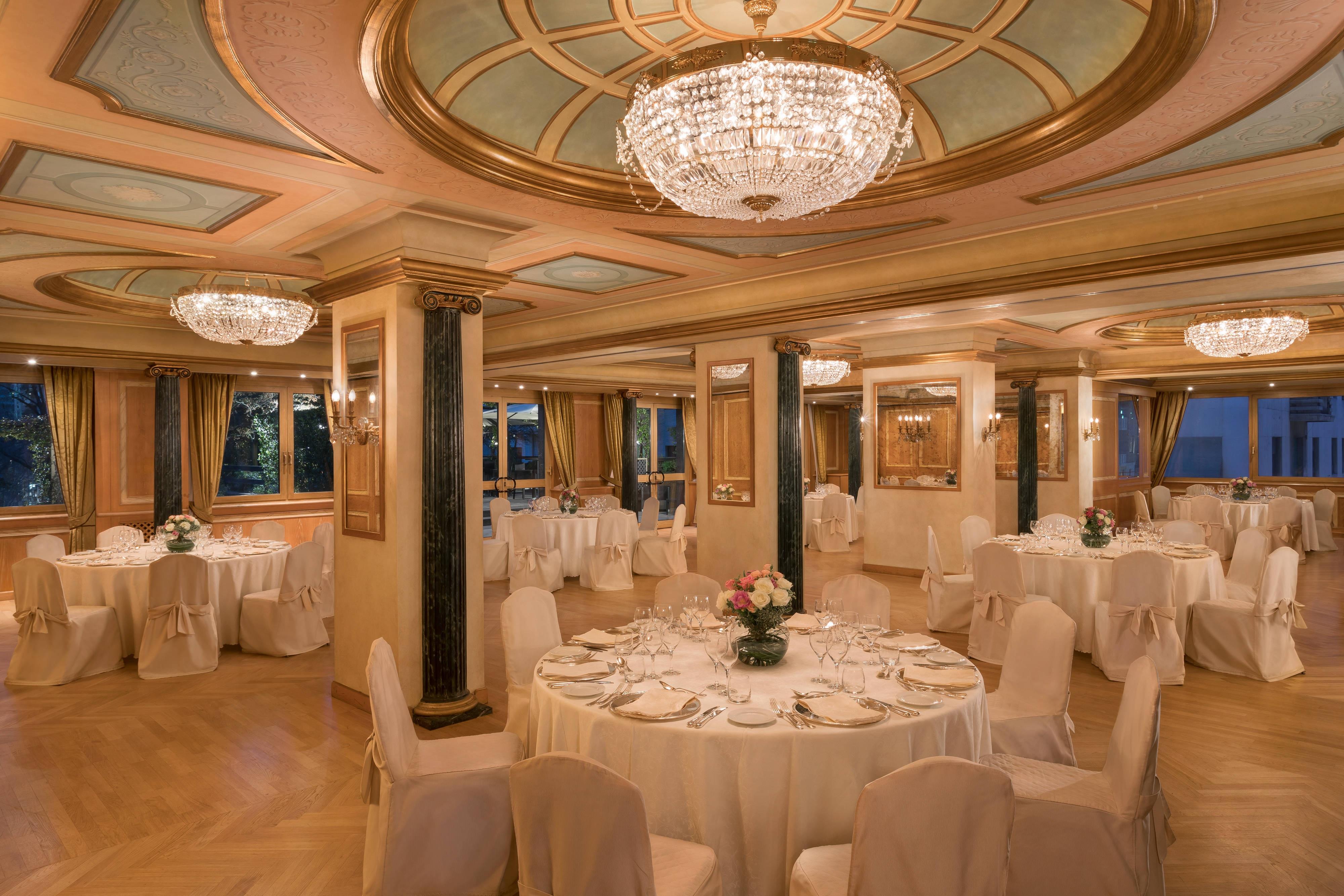 Sala Giardino - Cena di gala