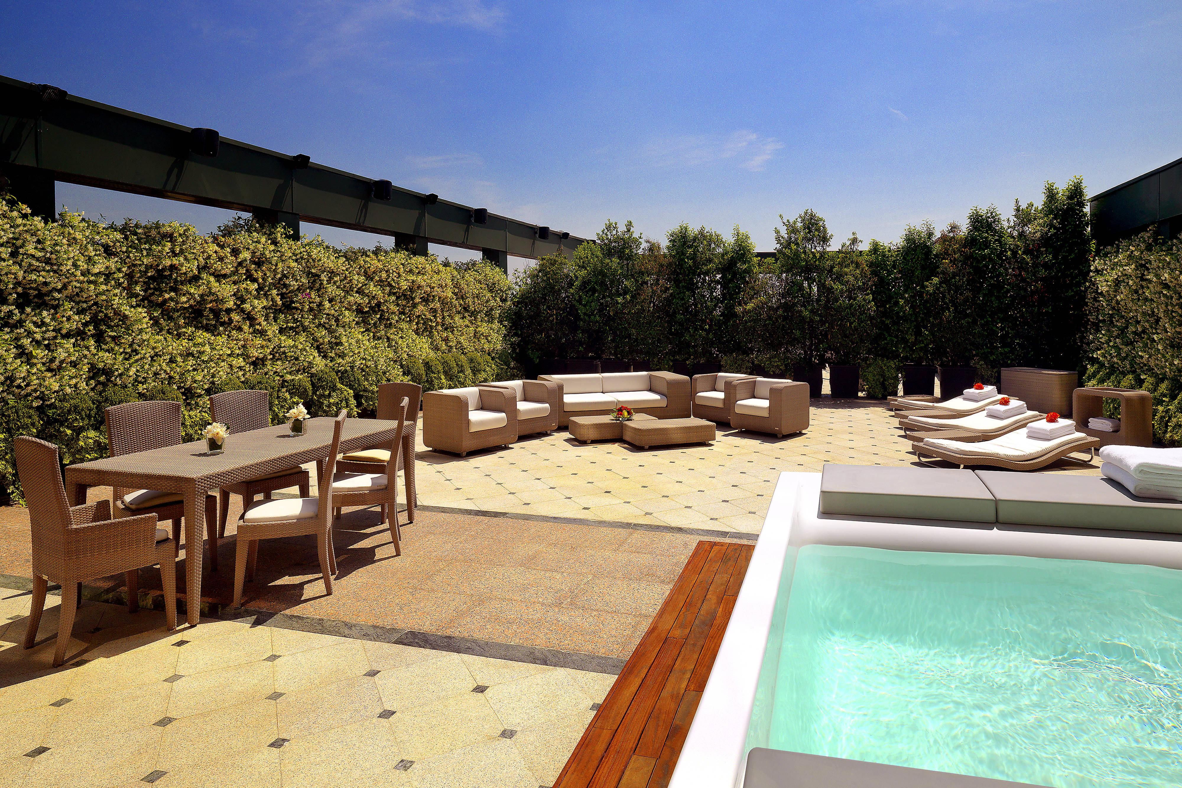 Private Terrace of the Presidential Suite