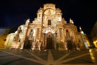 Cathedral in Murcia city