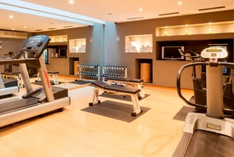 Gimnasio del AC Hotel Murcia by Marriott
