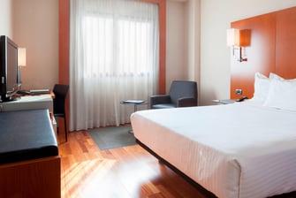 Habitaciones estándar en el AC Hotel Murcia