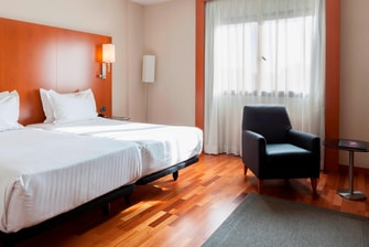 Habitaciones estándar con dos camas individuales