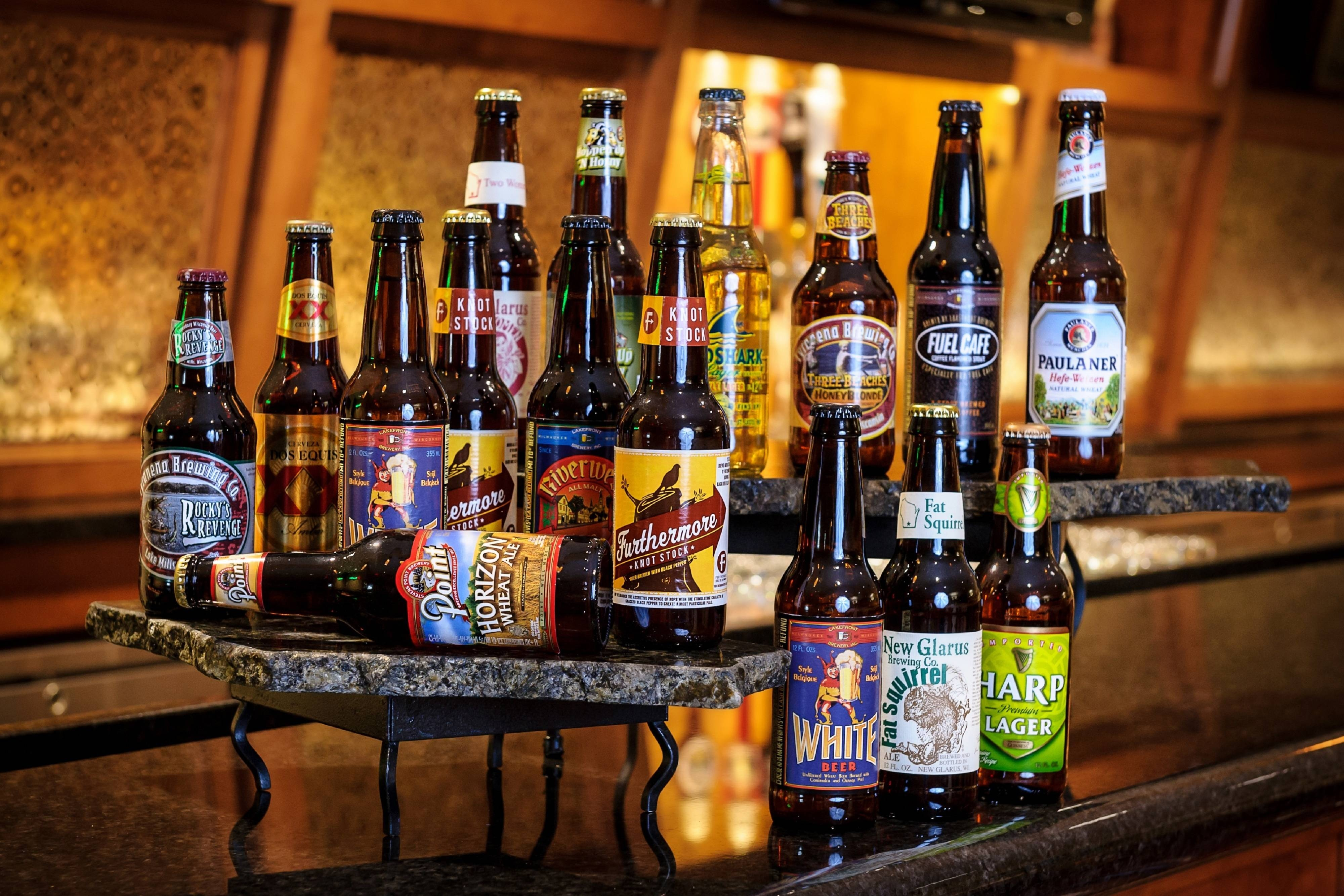 Extensive Craft Beer List