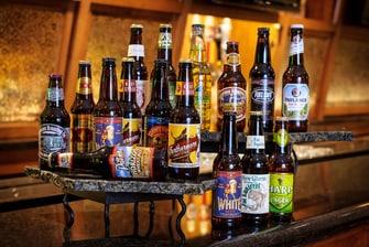 Extensive Craft Beer List