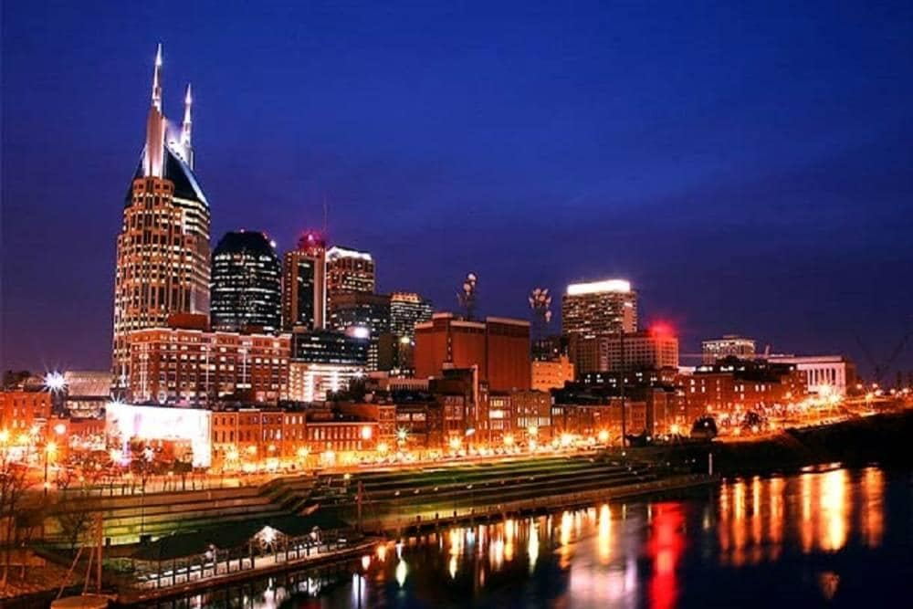 Nashville Skyline - Jackson Marriott