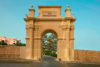 Historical archway