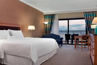 King Guest Roomded Sea View Room