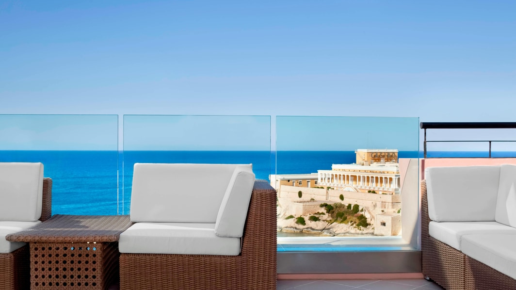 Suite Presidential Penthouse, terraza