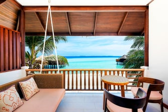 Beach Front Deluxe Room - Balcony