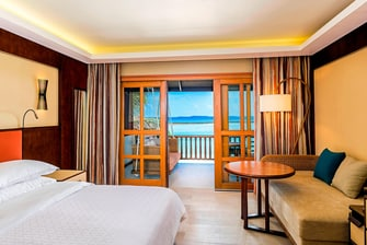 Quarto Beach Front Deluxe King