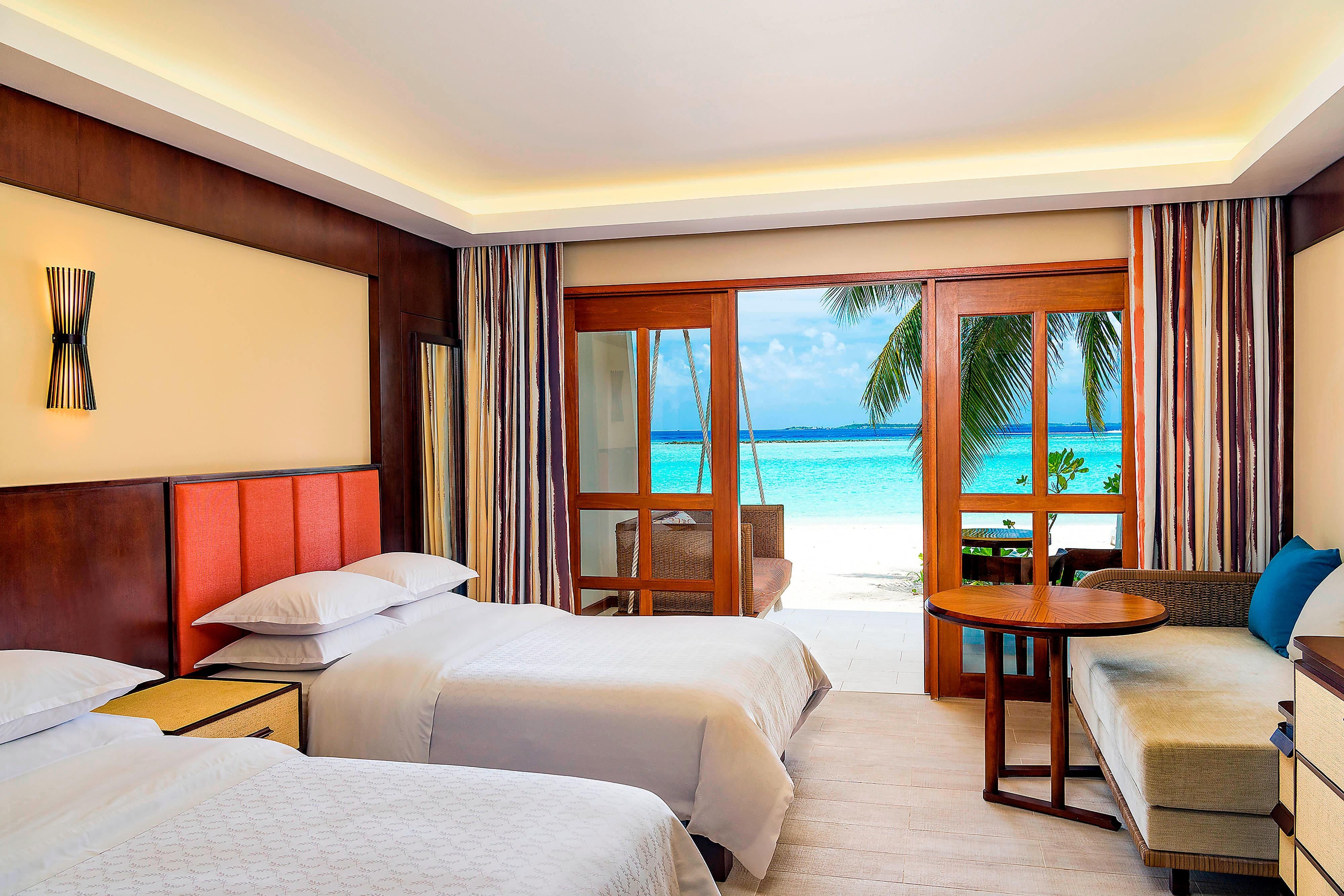 Deluxe Twin Beach Front Guest Room