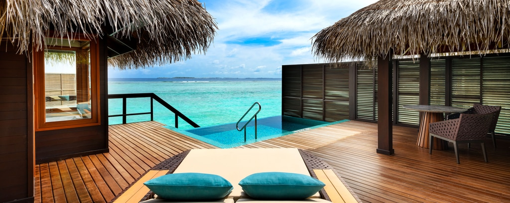 Overwater Bungalows in Maldives | Sheraton Maldives Full Moon Resort & Spa