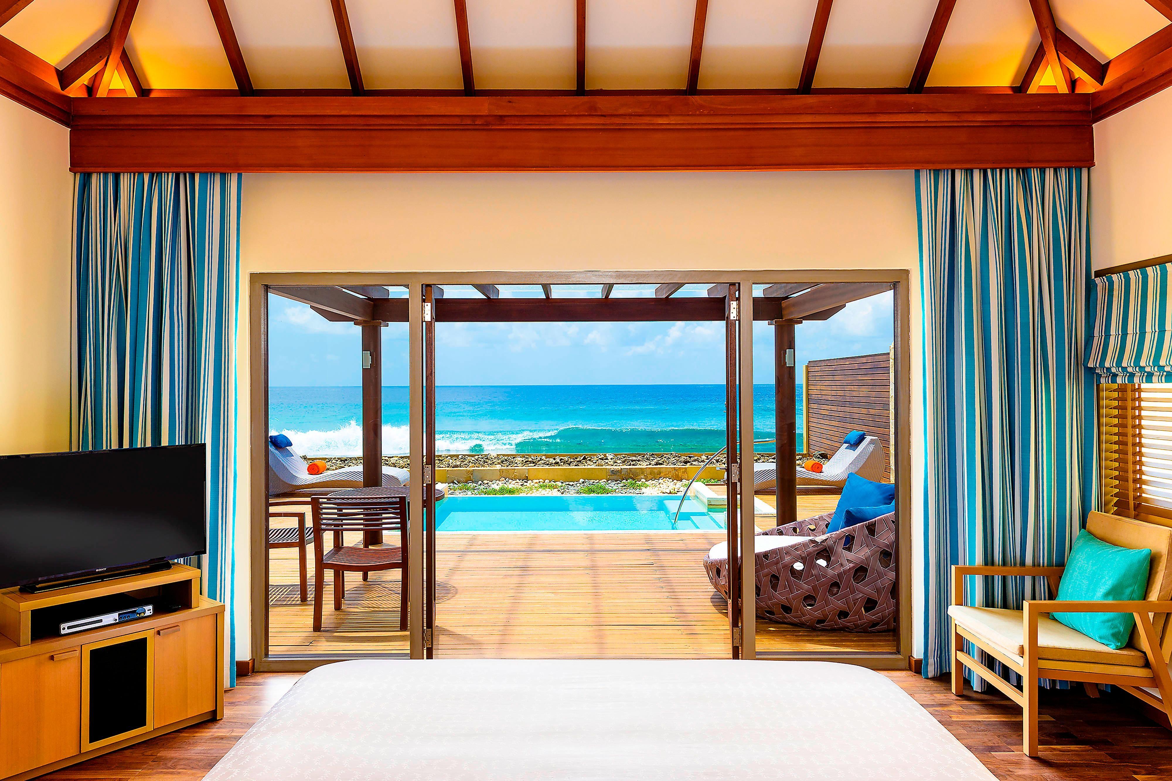 Ocean Pool Villa - Bedroom