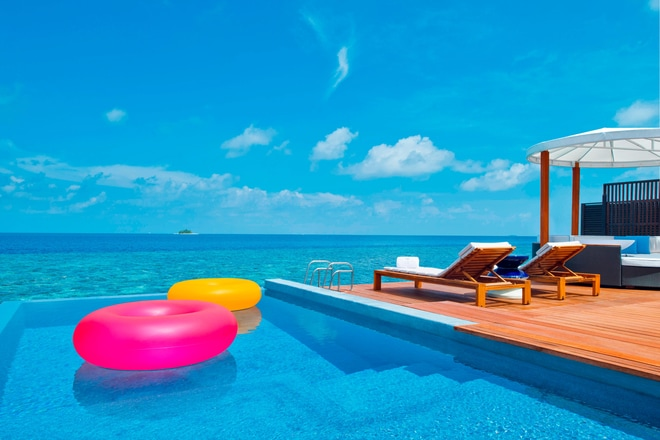 Fabulous Overwater Oasis Pool