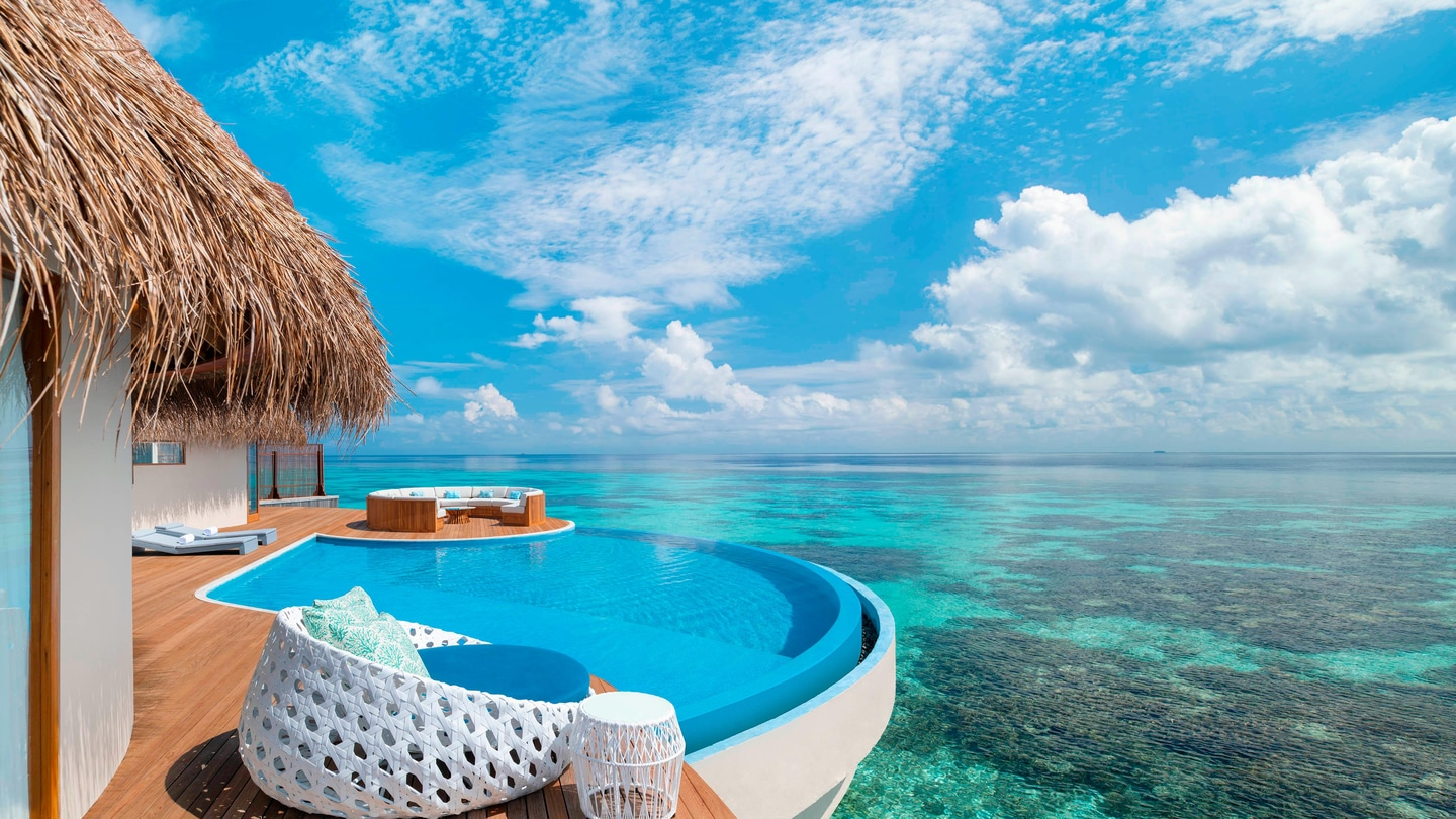 Maldives 5 Star Luxury Resort Hotel W Maldives