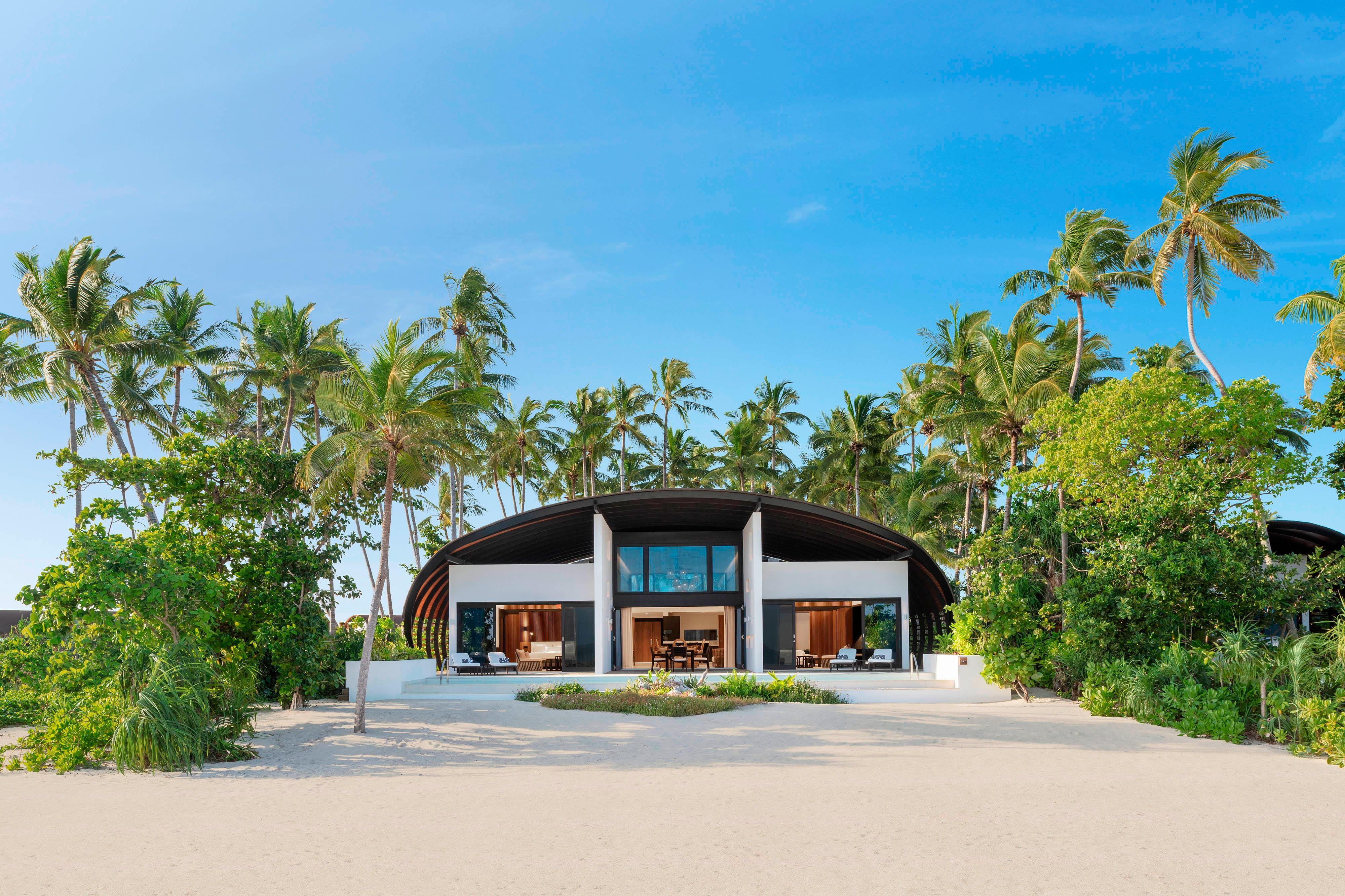 Two-Bedroom Island Residence with Pool – Exterior