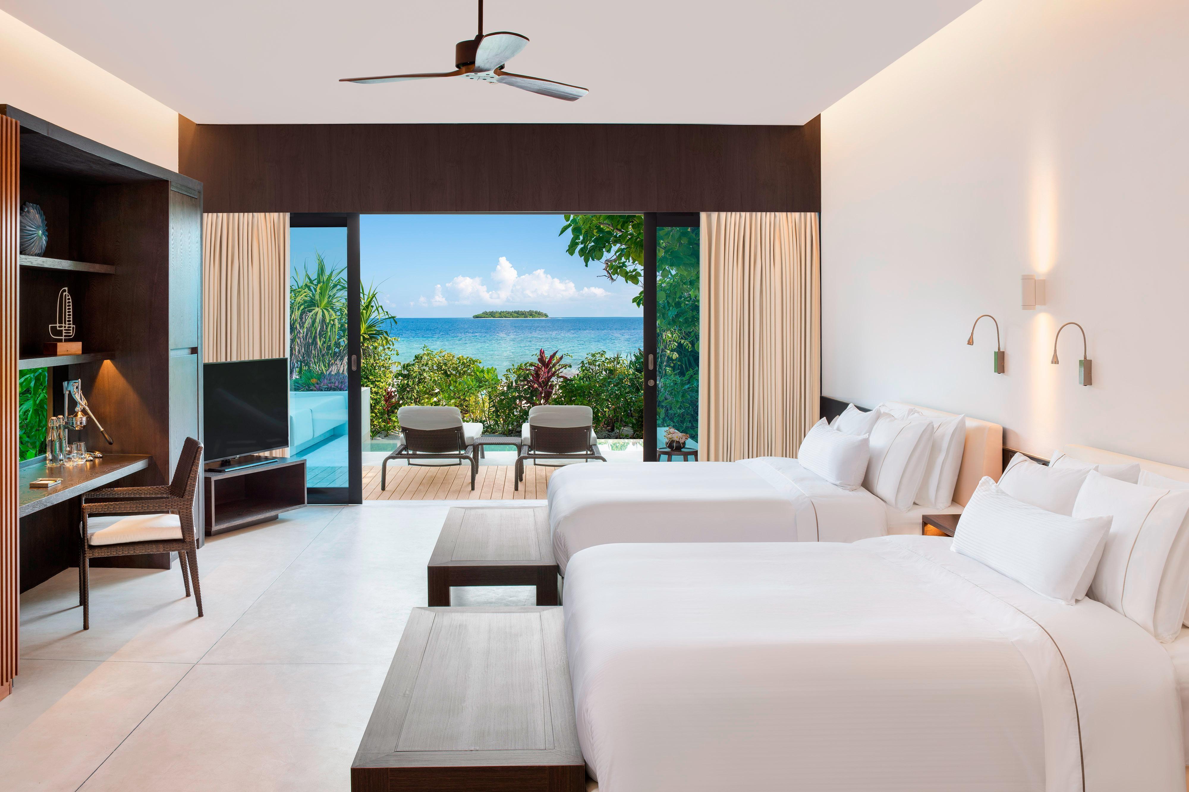 Island Villa with Pool – Twin/Twin Room