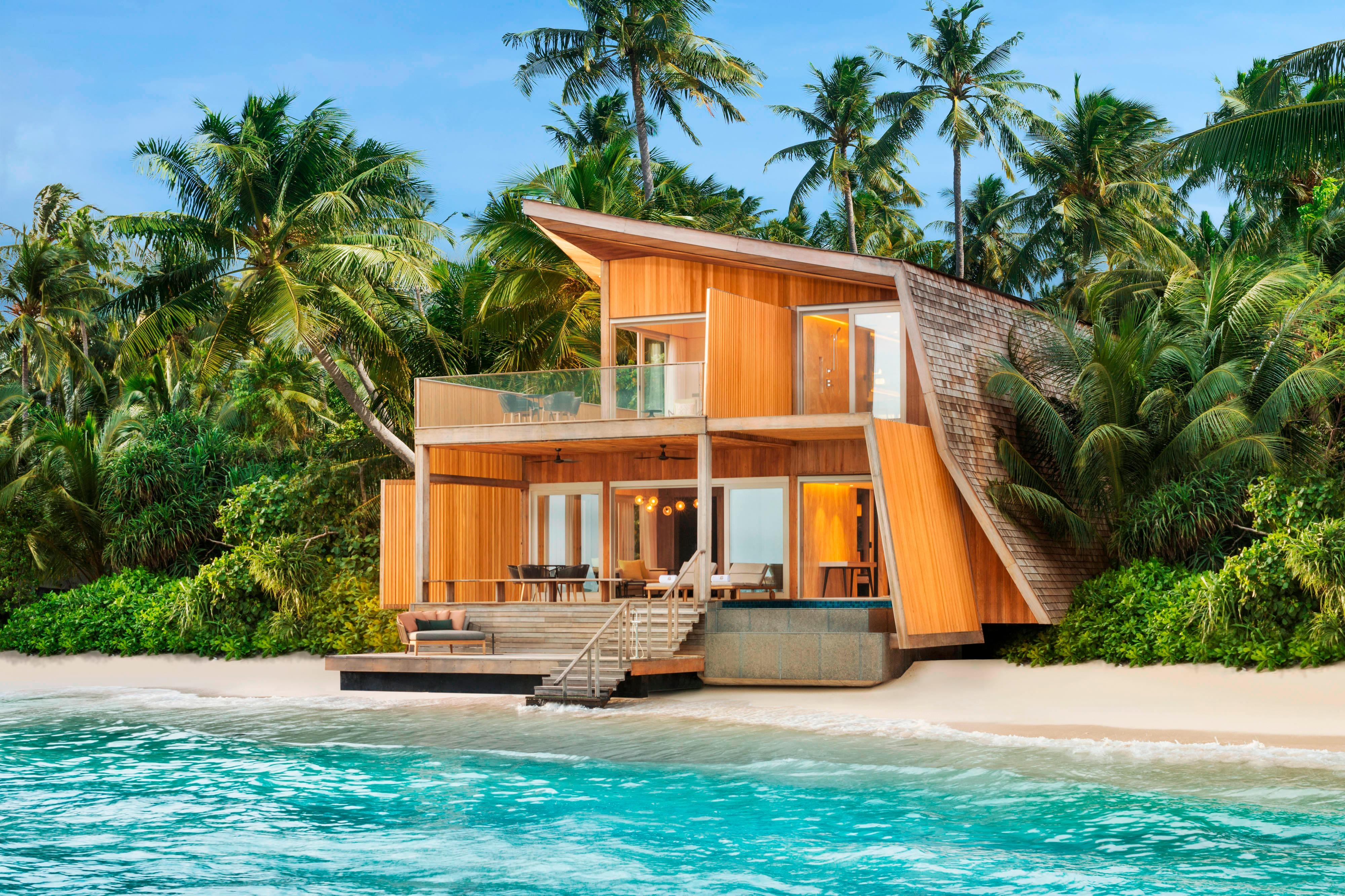Villa sulla spiaggia con due camere da letto