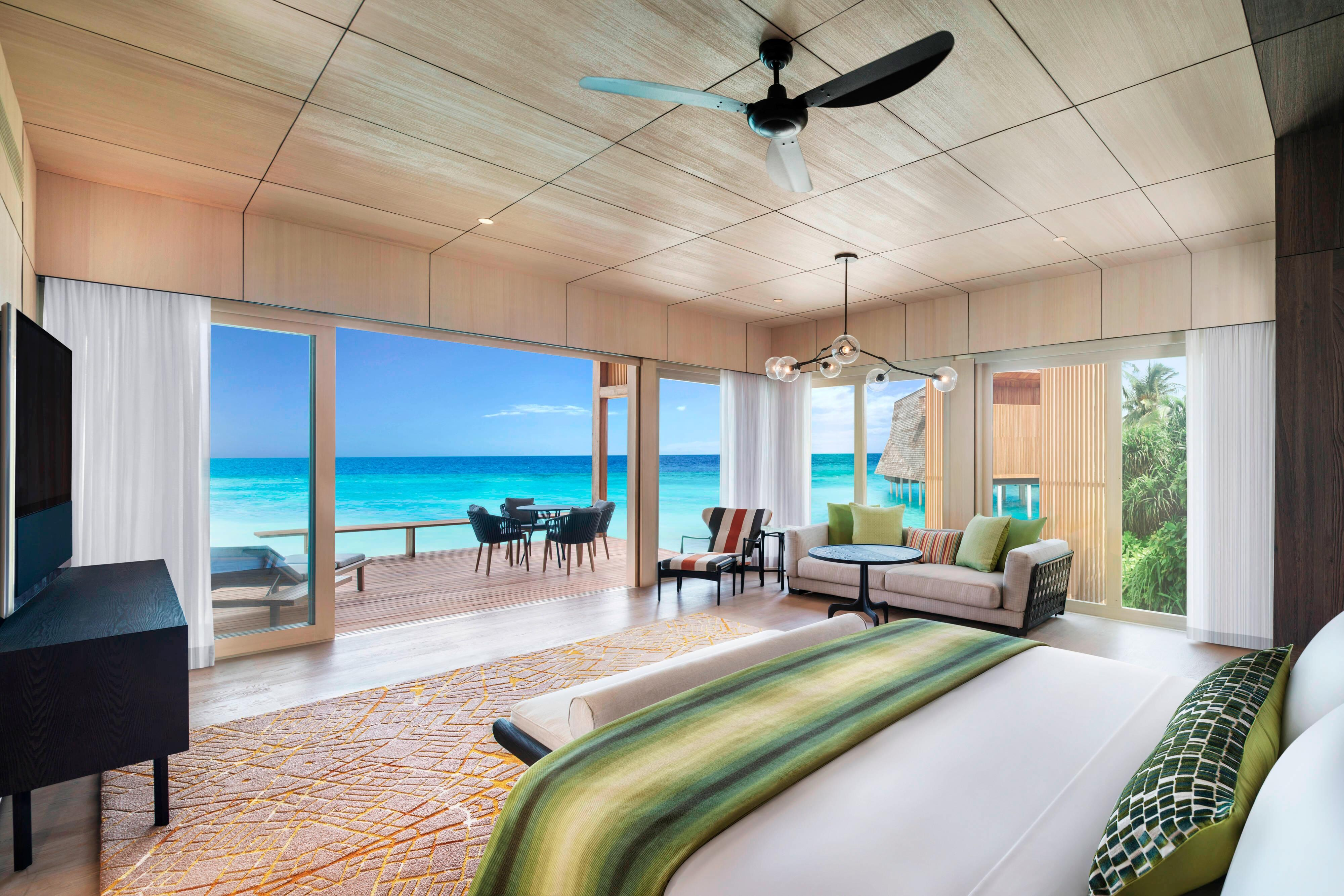 Villa Family na praia com dois quartos e piscina - Quarto principal