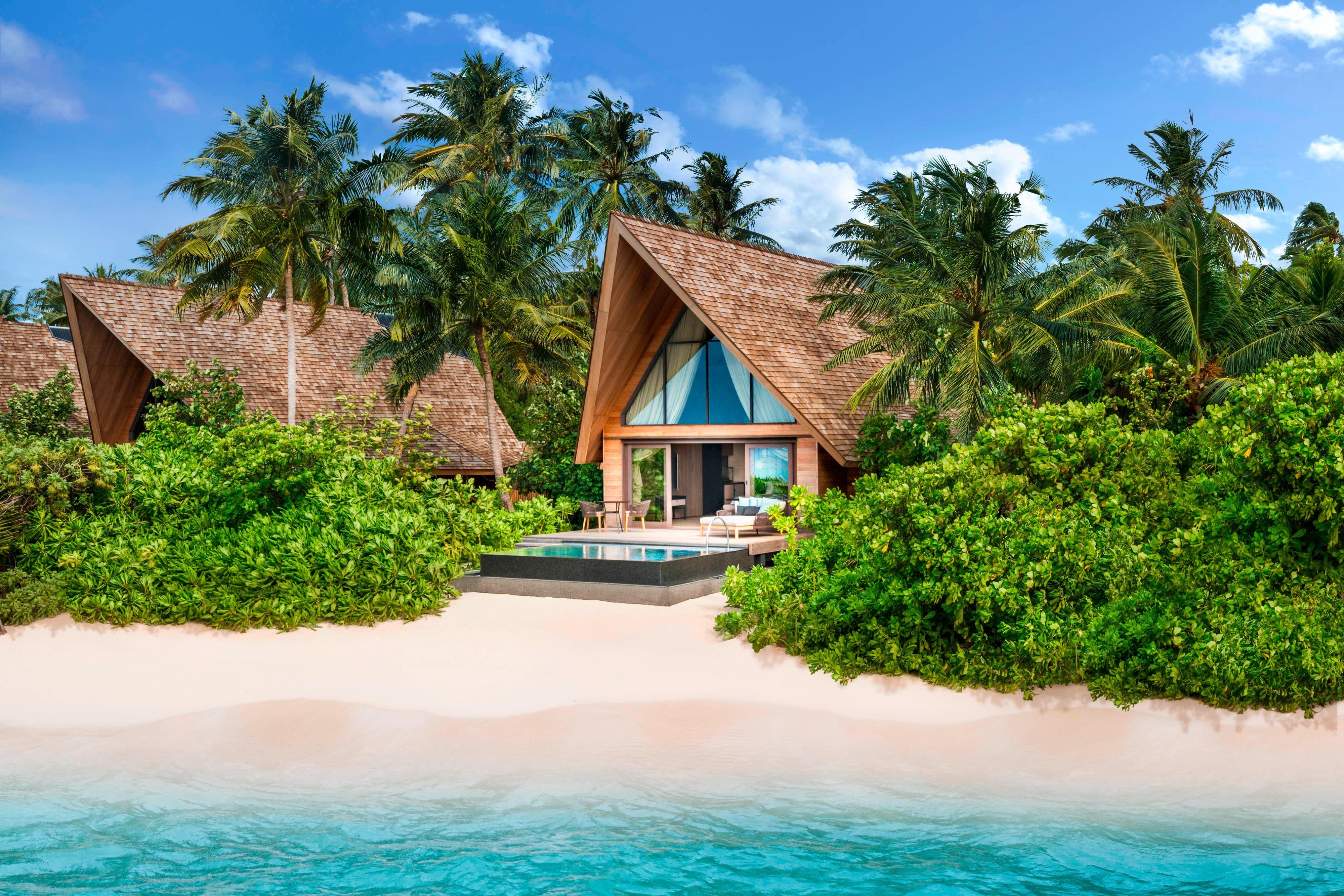 Вилла на пляже– бассейн