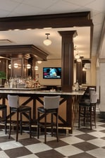 Autograph Collection hotel bar, Davenport hotel bar