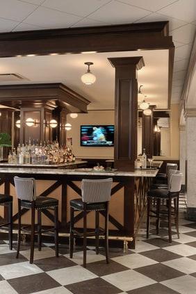 Autograph Collection hotel bar, Davenport hotel bar