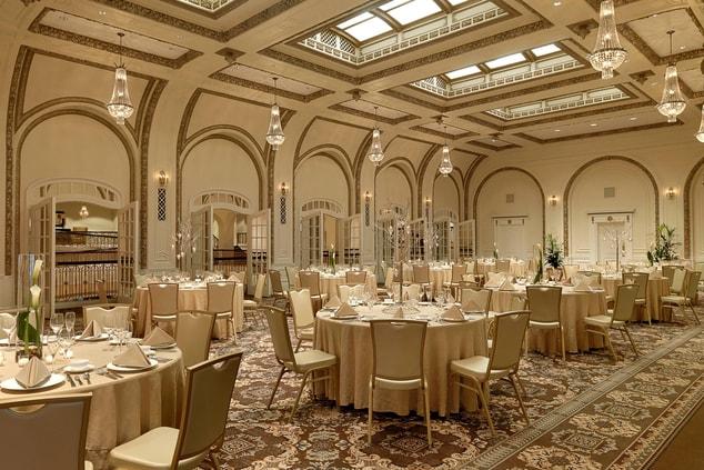 Davenport hotel wedding venues