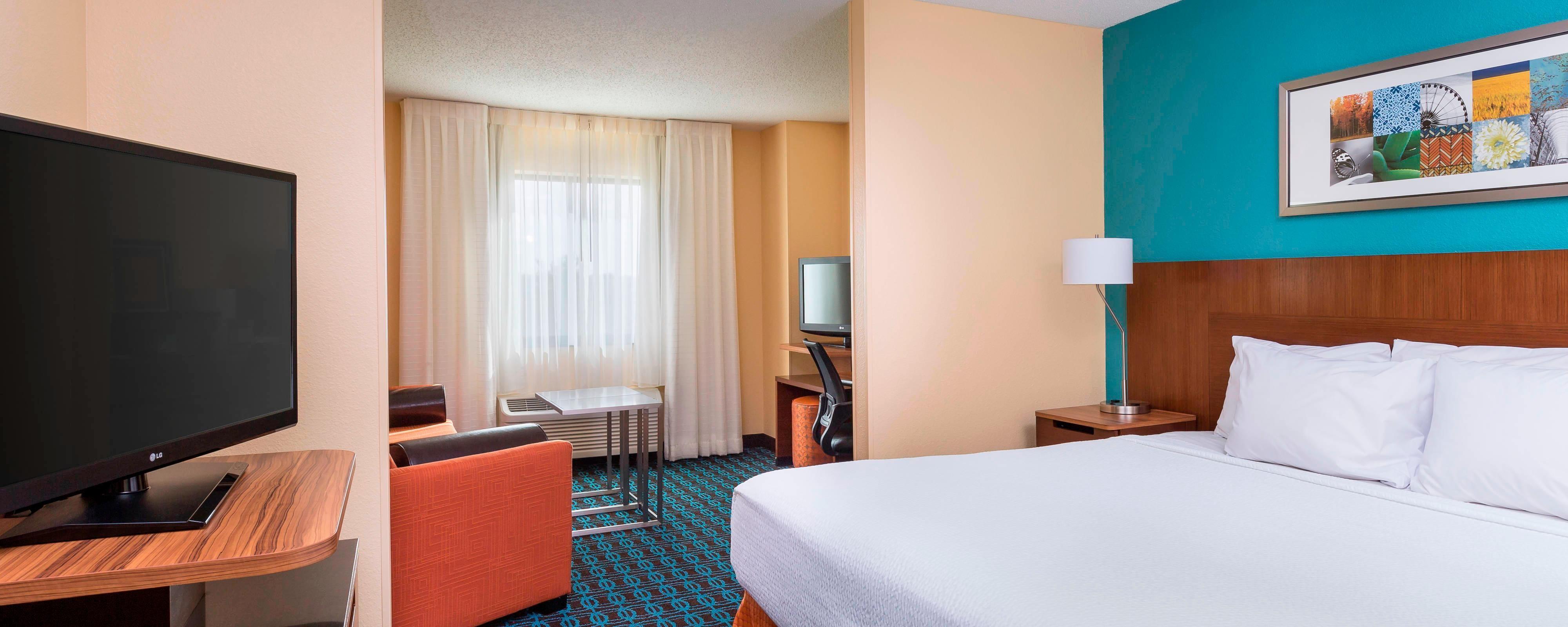 Suite del hotel de Galesburg, IL