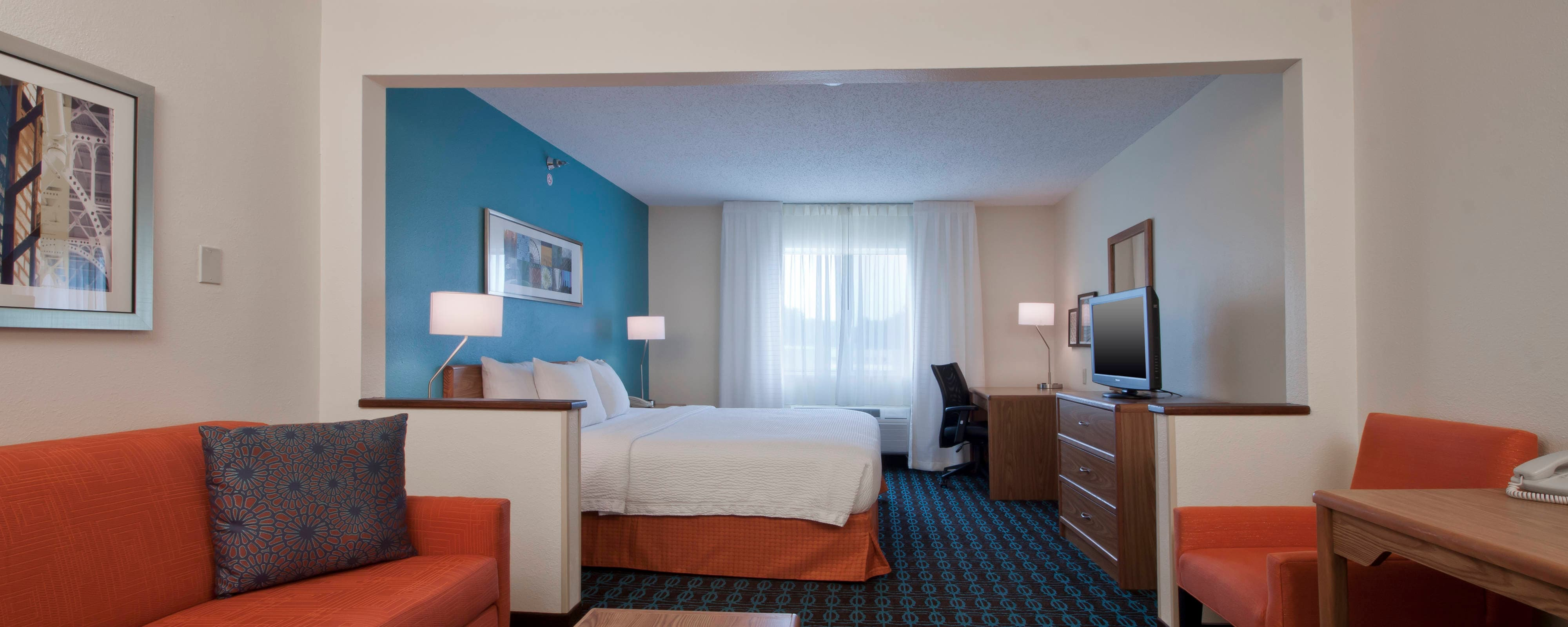 Executive-Kingsize-Zimmer in Hotel in Moline, Illinois