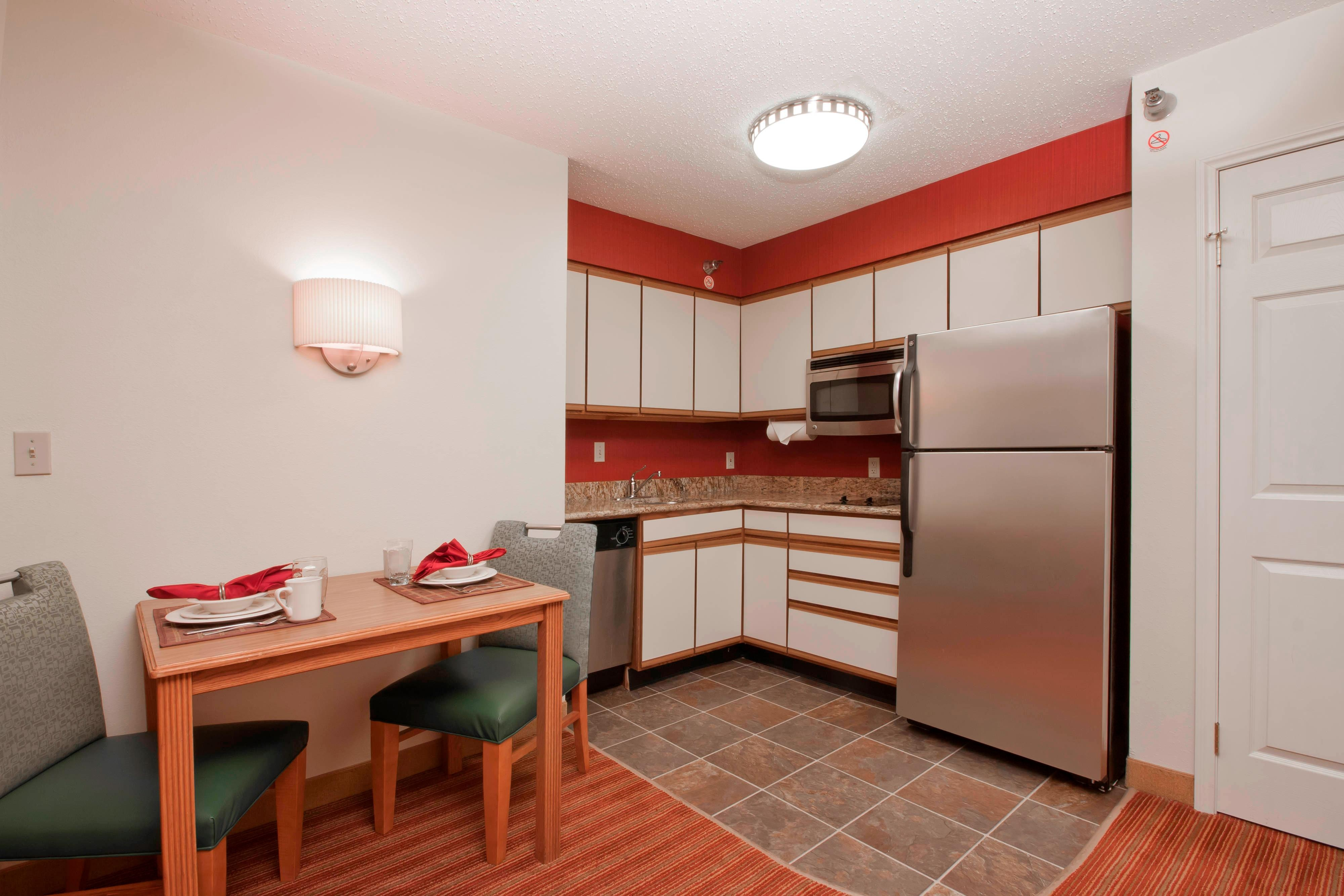 Davenport Hotel Fully Equipped Kitchen