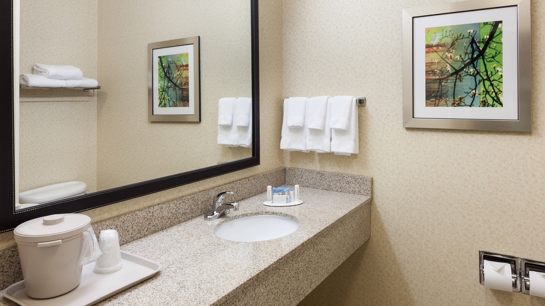 Baño de la suite King