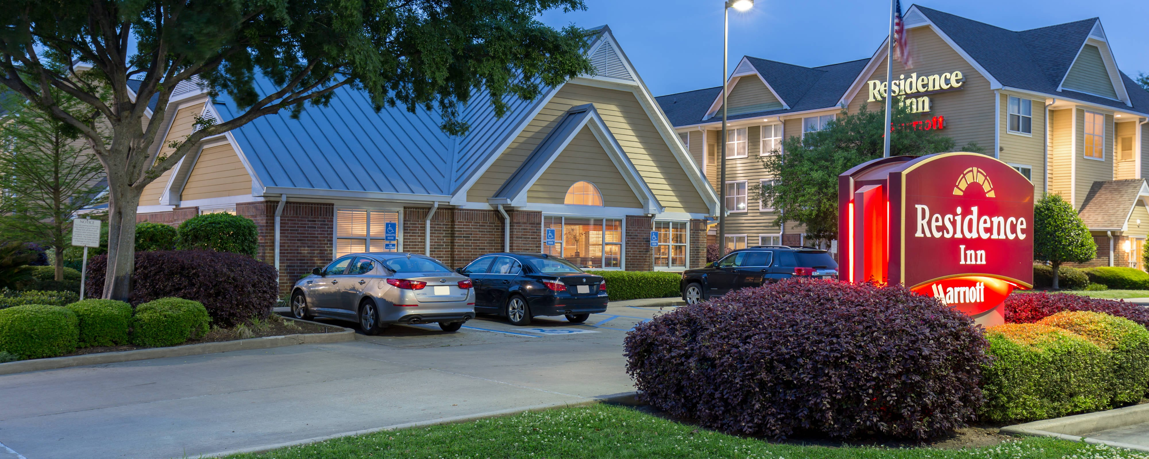 Monroe Louisiana Hotel Exterior Entrance