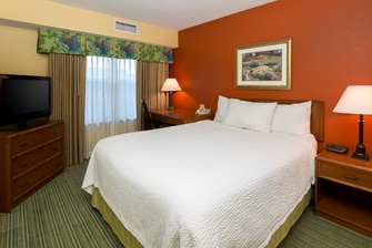 Monroe Louisiana Hotel Suite Bedroom