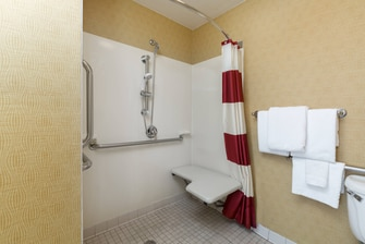 Monroe Louisiana Hotel Accessible Shower