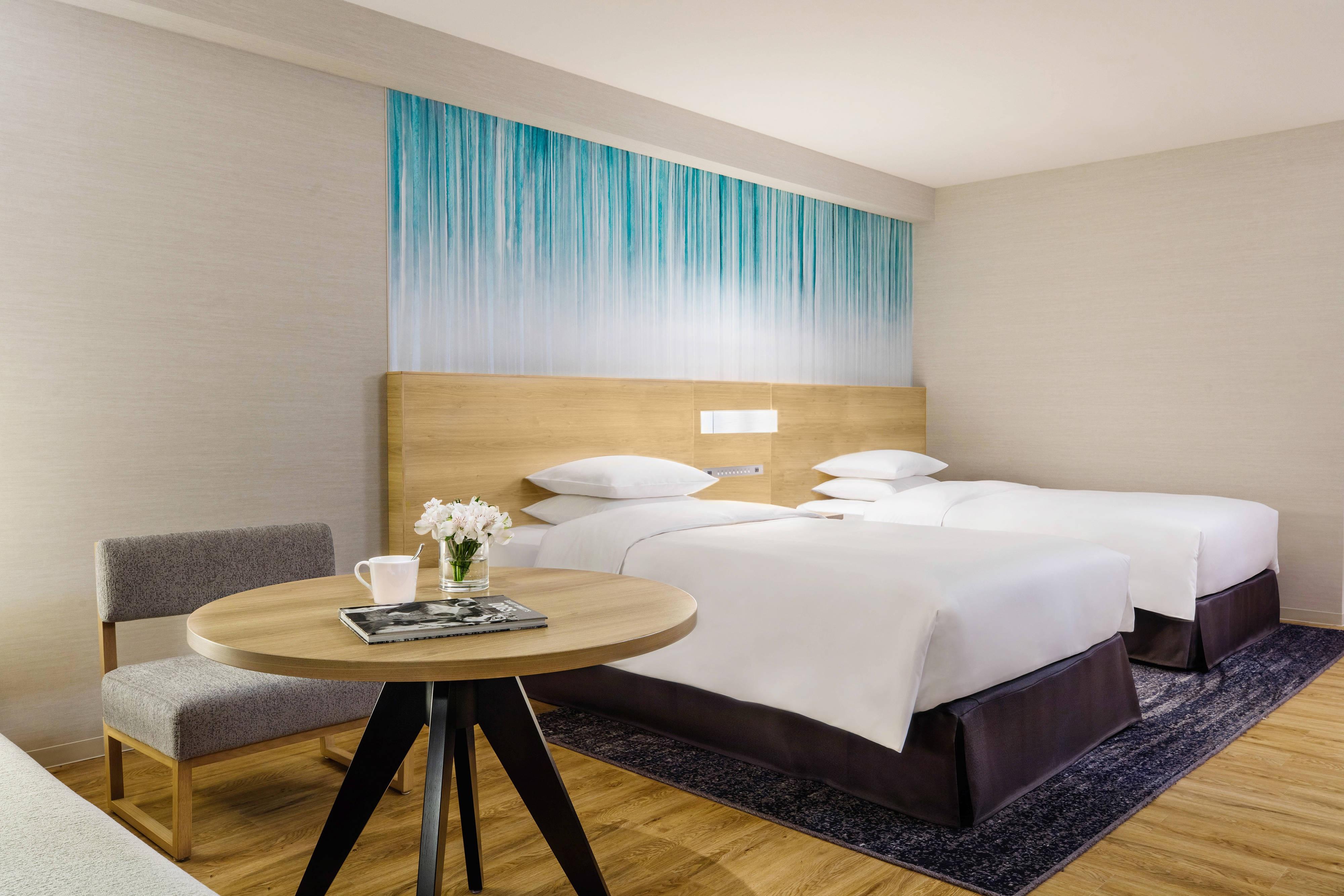 Superior-Gästezimmer mit zwei Doppelbetten