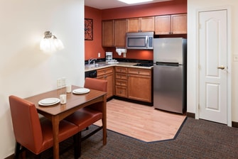 One-Bedroom Suite – Kitchen