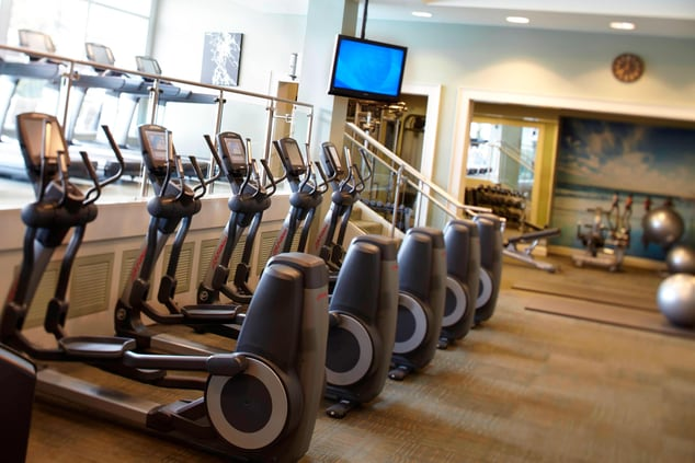 Mobile AL hotel with gym