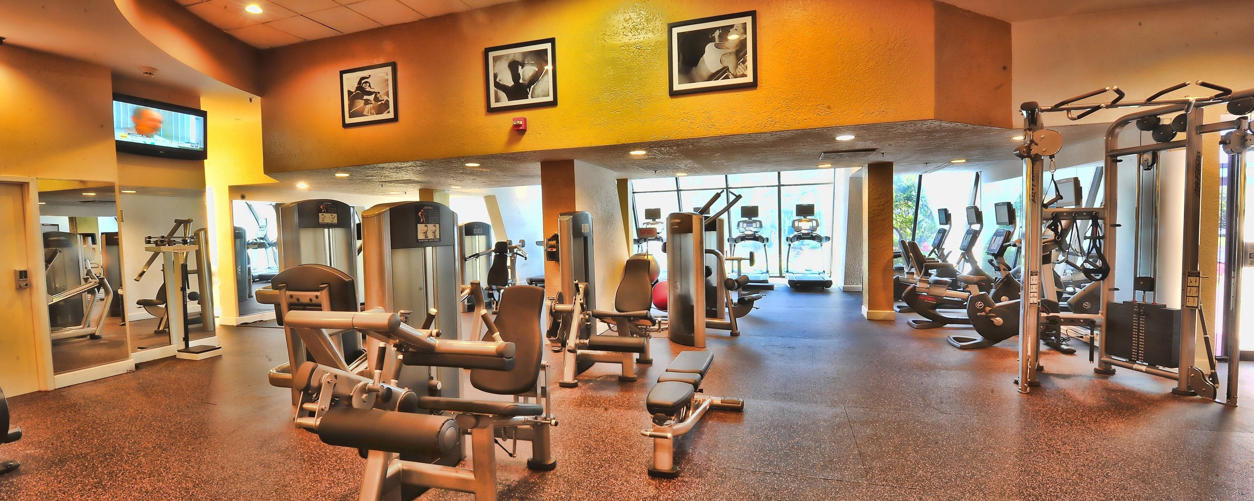 Hotel Gym In Mobile Recreation Activities At The Marriott Mobile