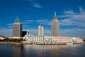 Hotels near Mobile convention center