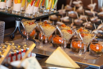 Catering im Moscow Hotel Renaissance