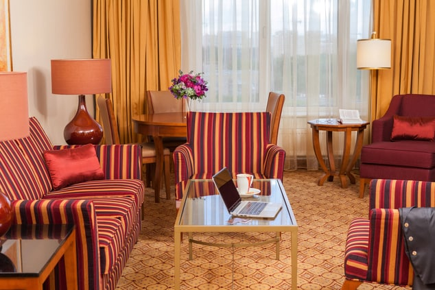 Suite in Moscow Renaissance Hotel